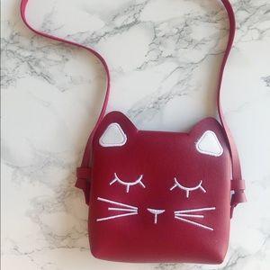 NEW* Girls Cat Faux Leather Mini Bag